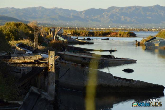 Cementerio de Barcas del Delta del Ebro, Viajar en autocaravana