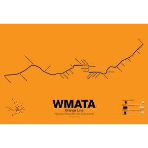 WMATA Orange Line