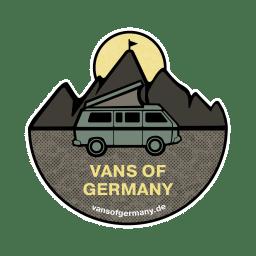 Vans of Germany Logo in Farbe