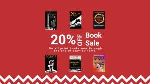 Header image for book sale