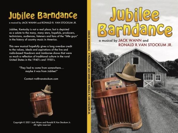 Jubilee Barndance Full Cover including spine