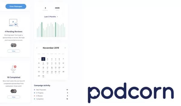 Podcorn launches self-serve podcast advertising platform