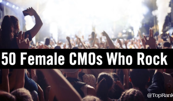10 Years of Women Who Rock in Marketing – CMO Edition 2019
