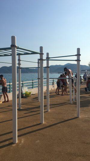 Sportpark an der Promenade in Cannes