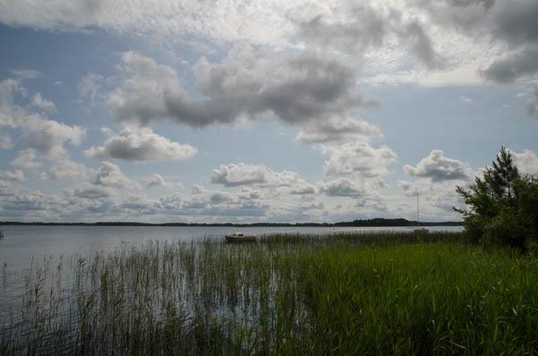 Natursee an der Atlantikküste