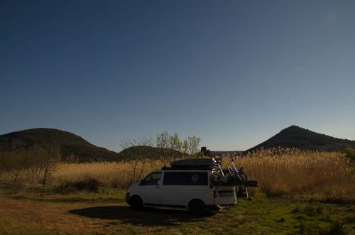 Vanlife am Lac du Salagou