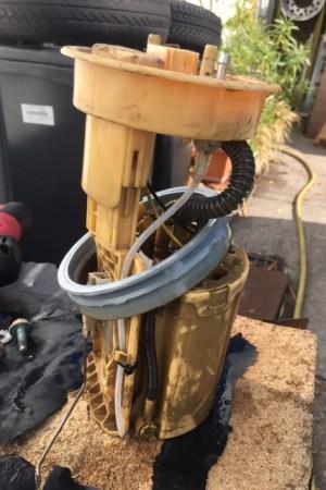 Kraftstoffentnahmerohr in der Kraftstoffpumpe