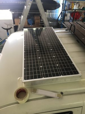 Montage Solarpanel