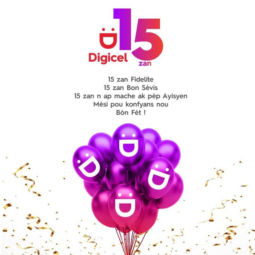 , Haiti: La Digicel fête ses 15 ans et poursuit la révolution commencée depuis 2006