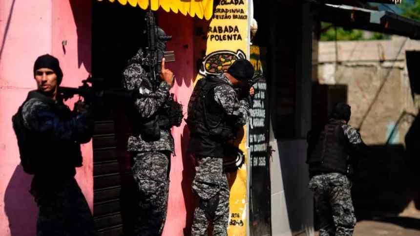 , Brésil: une opération antidrogue dans une Favela à Rio , fait au moins 25 morts