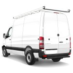 H2 Cargo Ladder Roof Rack For 07 On Sprinter High Roof And High Roof Extended 170 Wb Vantech Usa Inc