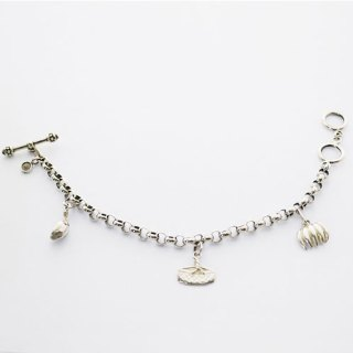 BRACELET ISLAND CHARMS STERLING SILVER