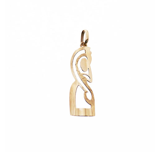FERN CARVING SHAPED PENDANT