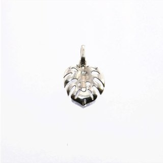 MONSTERA MINI LEAF PENDANT STERLING SILVER