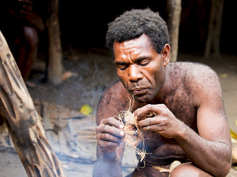 Local Tannese people are proud of their past traditions and customs and are more than happy to explain it to visitors to Tanna Island.