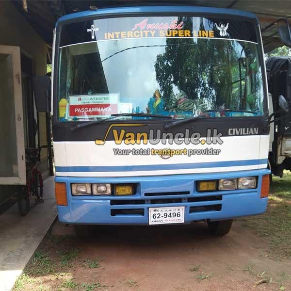 School Transport Service from Weliweriya to Colombo