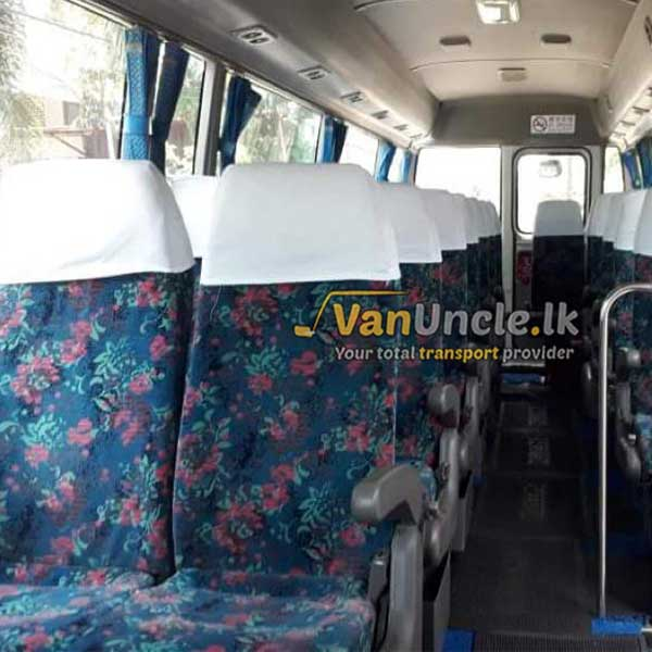 Office Transport Service from Kaluthara to Rajagiriya
