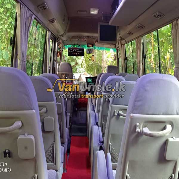 Office Transport Service from Ambalangoda to Deniyaya