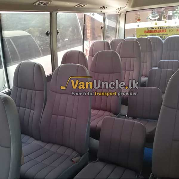 Office Transport Service from Bandaragama to Maradana