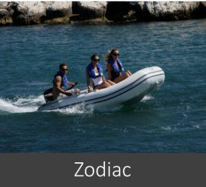 Zodiac rubberboten