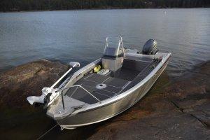 Aluminium visboot Buster M