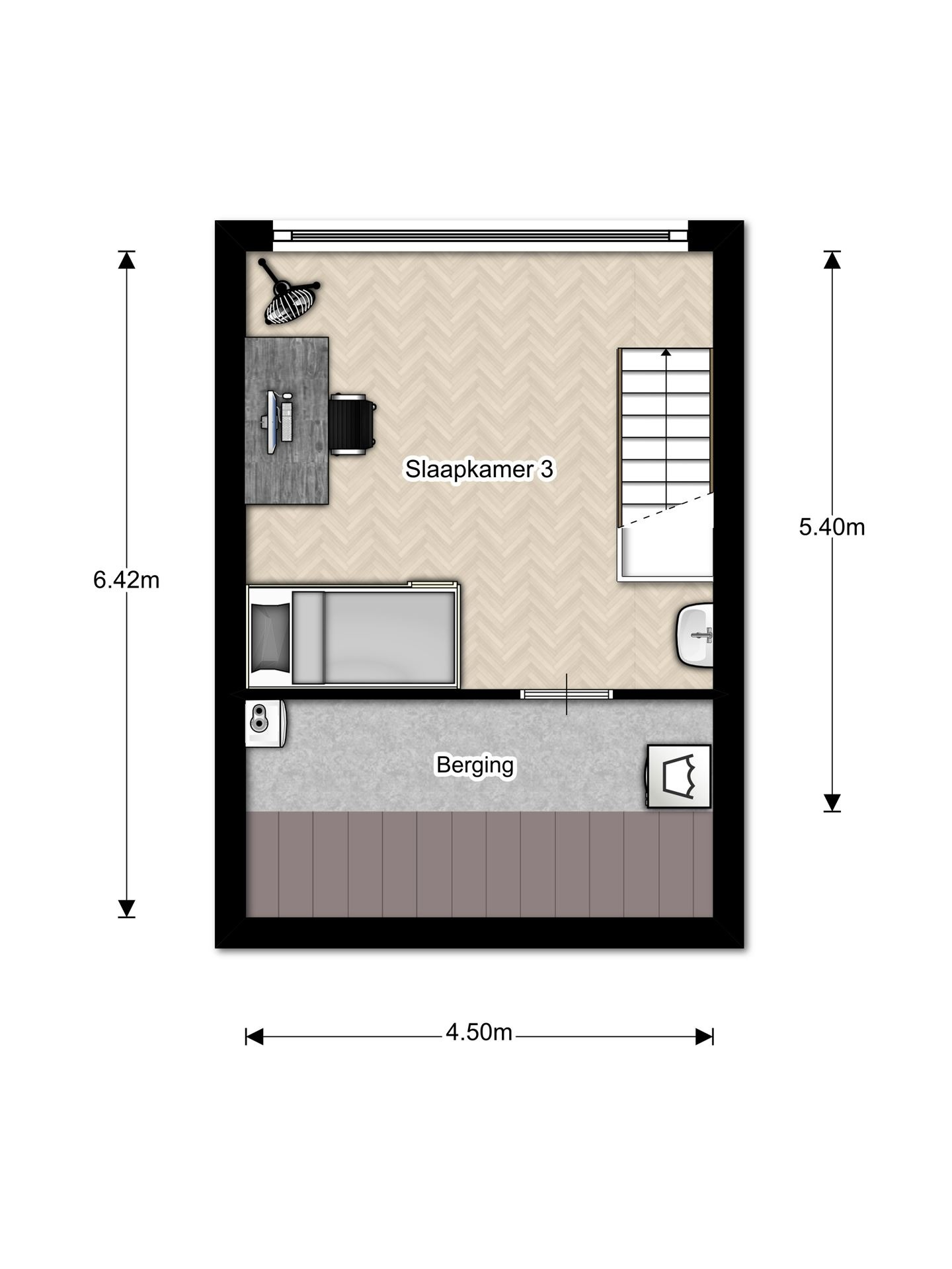 Derde verdieping