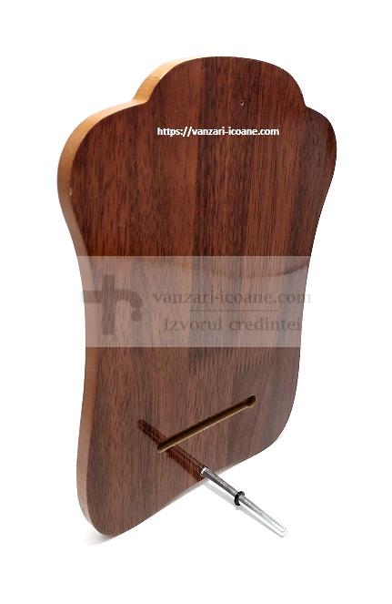 icoana pe lemn de stejar