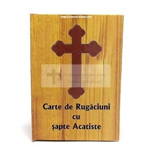 Carte de Rugaciuni cu 7 acatiste cartonata