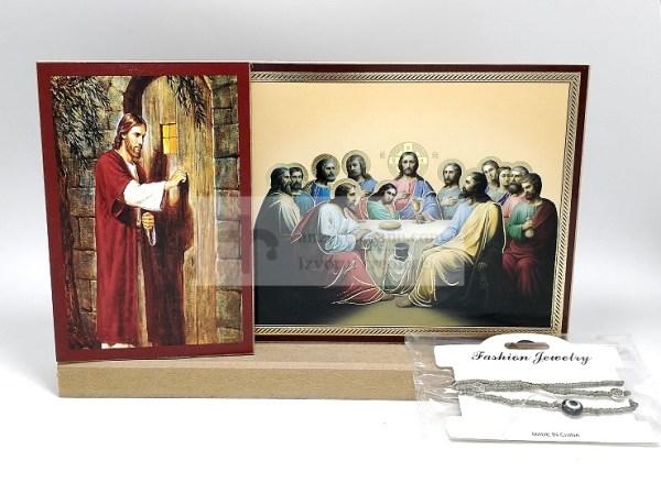 Set icoane Iisus si Cina cea de taina