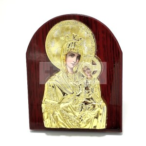 Iconita pe lemn pentru birou