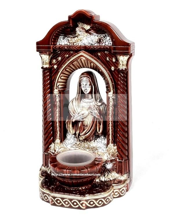 Candela mare marou cu Statueta Maicii Domnului