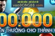 W88 - 100% thưởng chào mừng trị giá 1,000,000 VND