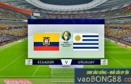 Soi kèo Uruguay – Ecuador 5h00 – 17/6/2019 - Copa America 2019