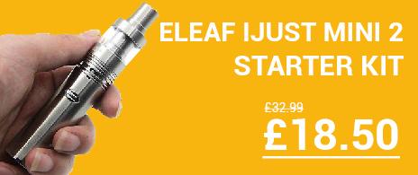 Eleaf Ijust Mini 2 Start Kit for Cheap in the UL