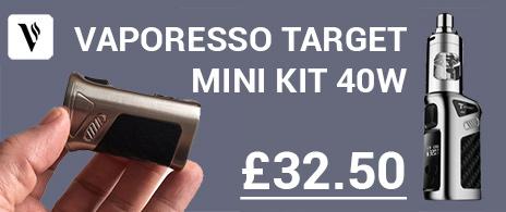Vaporesso Target Mini E-Cigarette Starter Kit 40w Cheap in the UK
