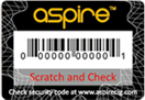 scratch and check aspire