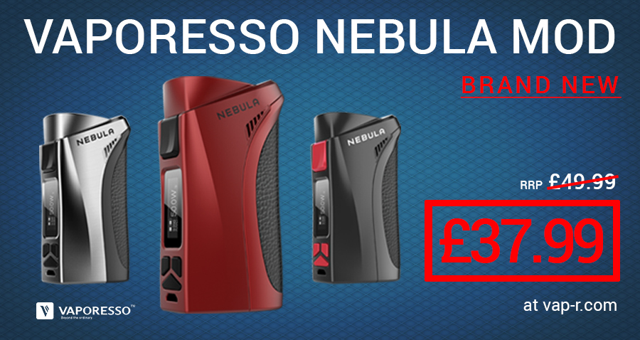 Buy the Vaporesso Nebula 100w mod from the UK