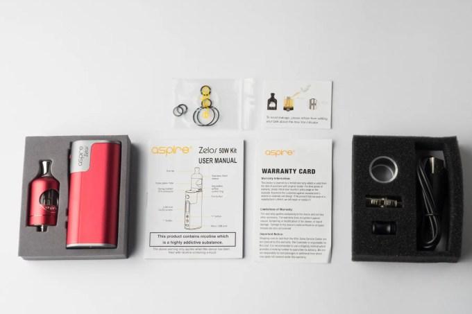 【スターターキット】Zelos 50W Kit「ゼロス50Wキット」 (aspire/アスパイア) レビュー