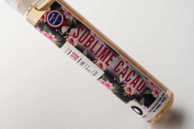 【リキッド】SUBLIME CACAO「サブライムカカオ」 (The FUU/フー) レビュー
