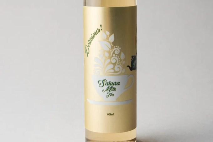 【リキッド】Sakura Milk Tea「サクラミルクティー」 (Basic Vapor/ベイシックベイパー) レビュー