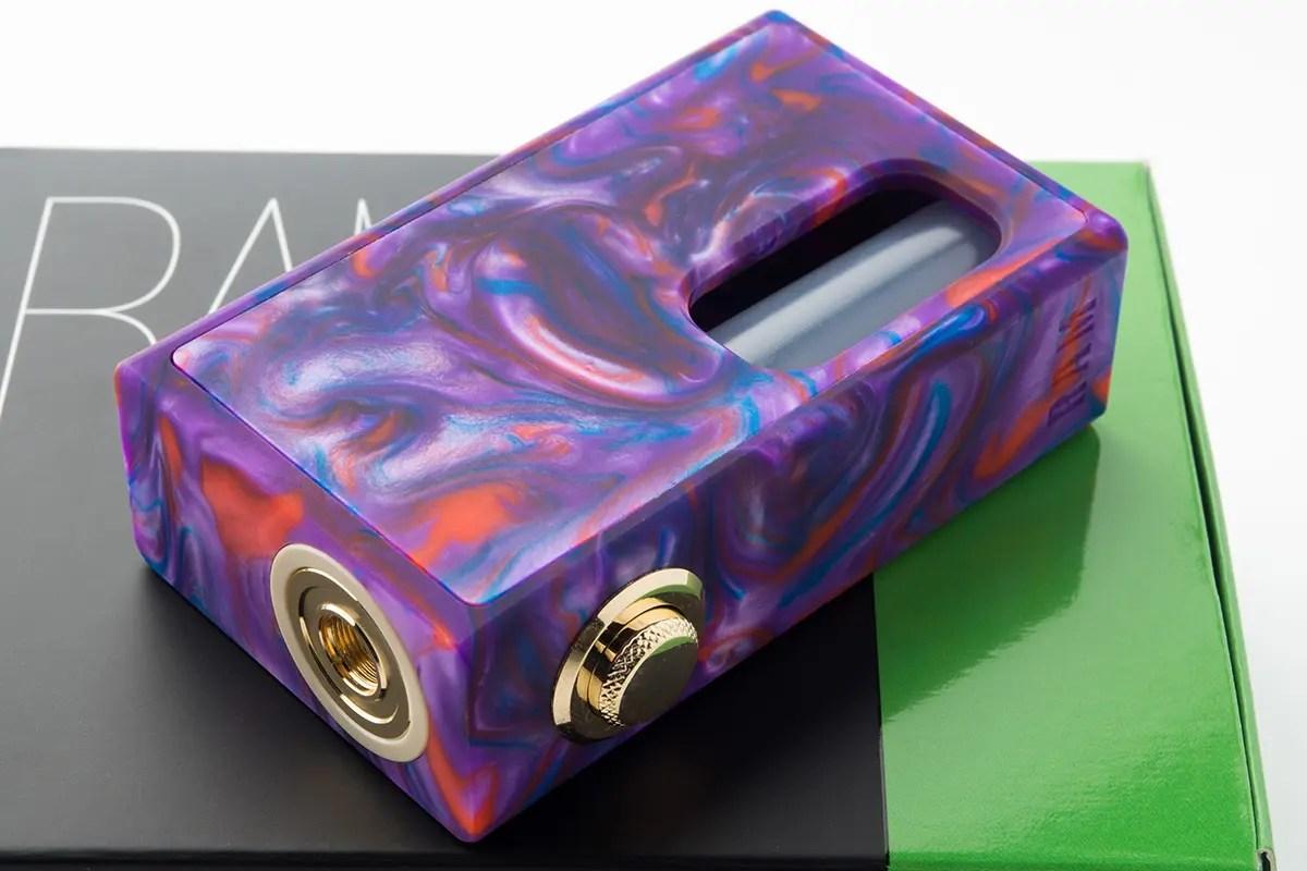 【メカニカルスコンカーMOD】RAM Box Mod ラムボックス / Stentorian Vapor by Wotofo メカスコ レビュー