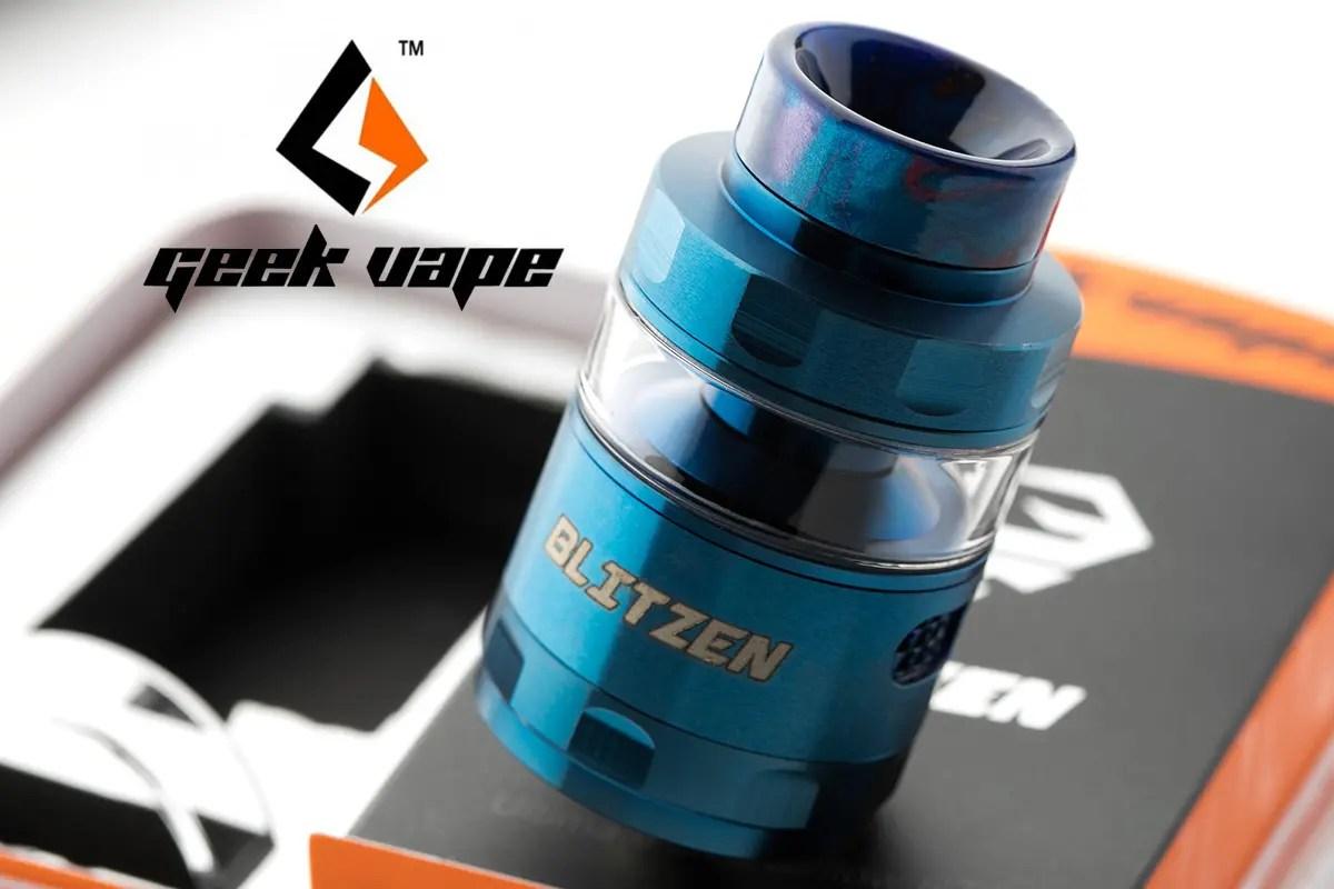【アトマイザー】Blitzen RTA 「ブリッツェン アールティーエー」 / Geekvape ギークベイプ レビュー