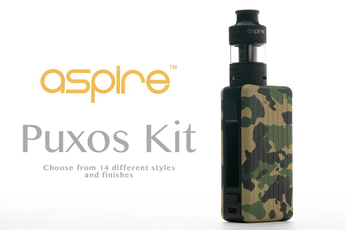 aspire Puxos Kit(アスパイア プクソス)レビュー