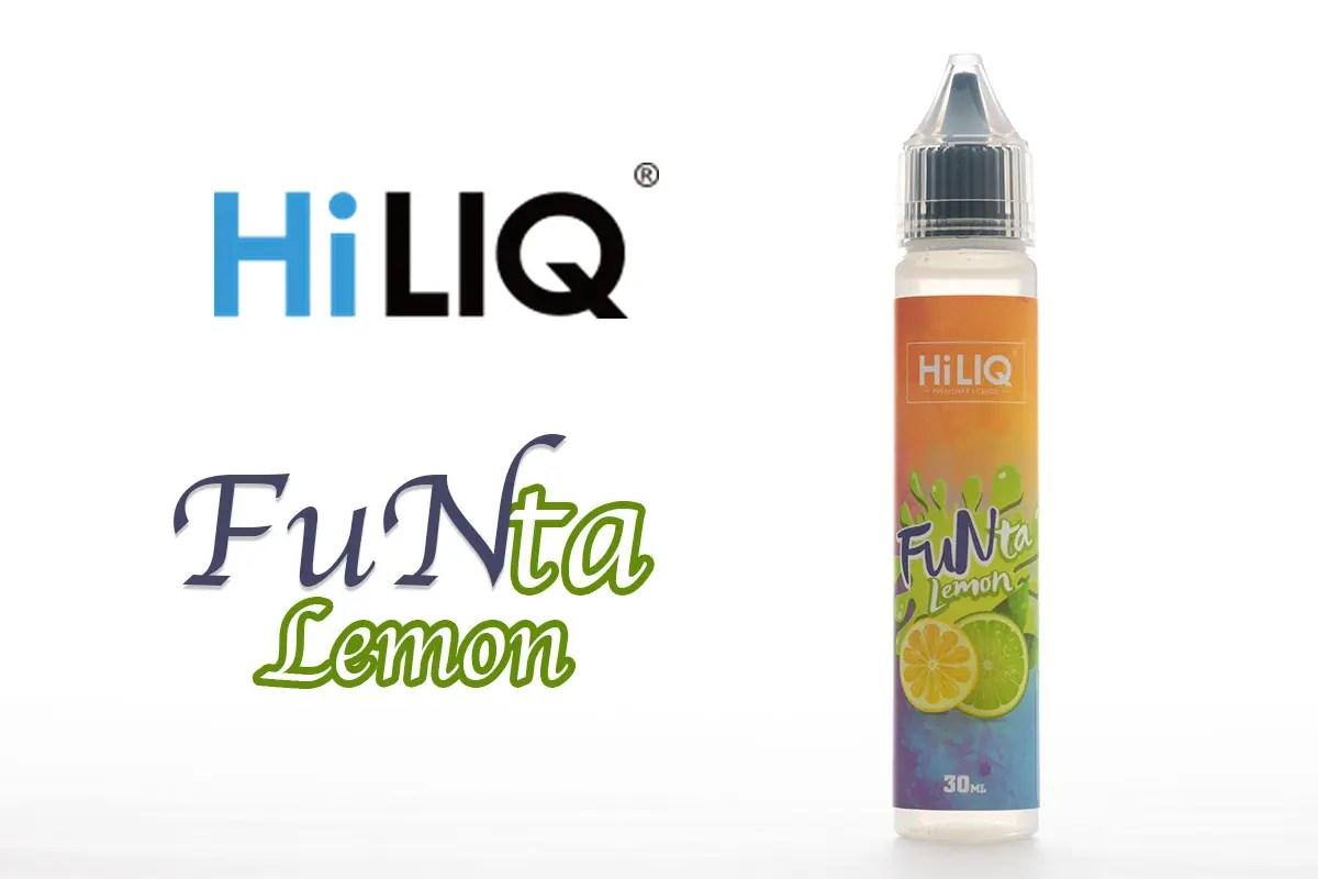 【リキッド】 HiLIQ FuNta Lemon「ハイリクファンタ レモン」レビュー