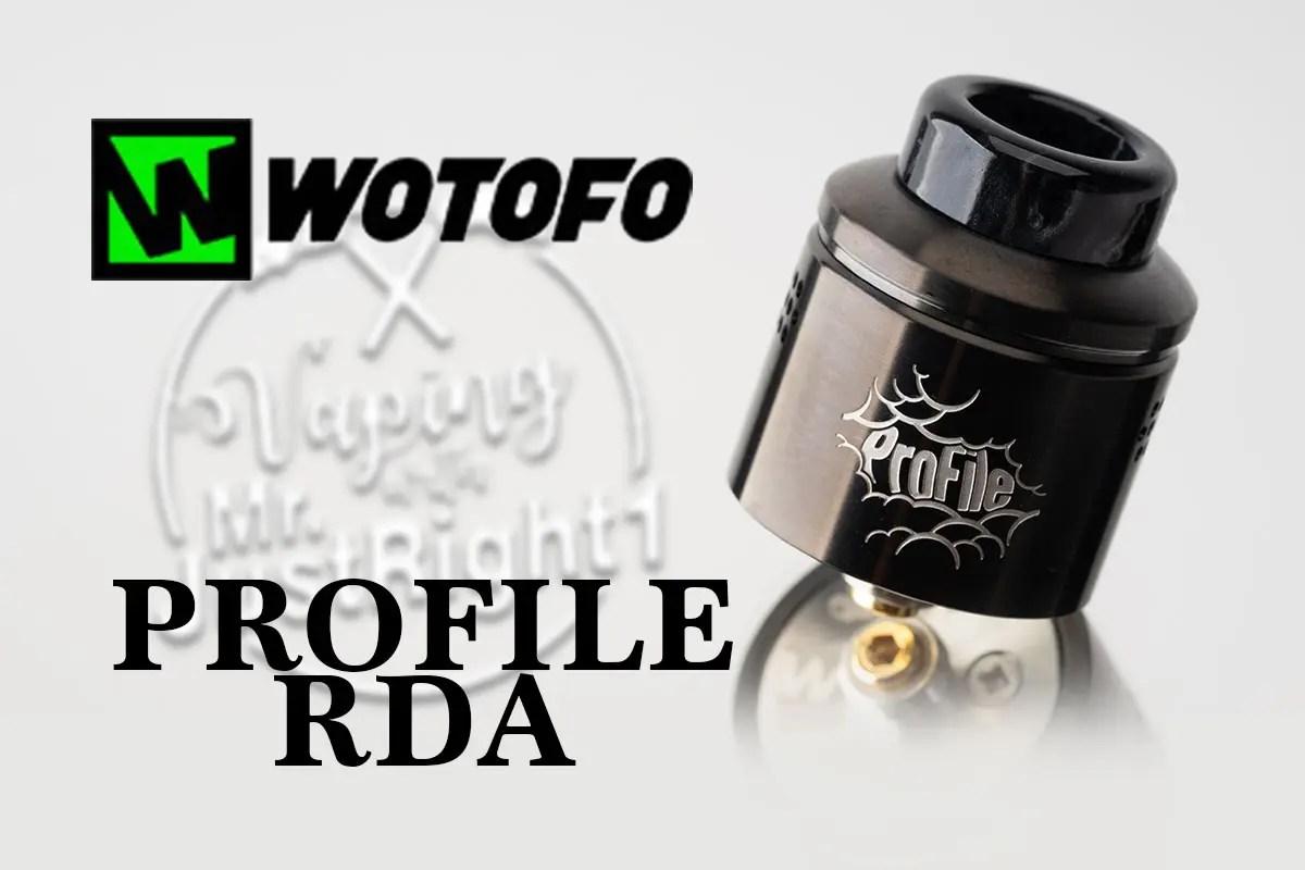 WOTOFO Profile RDAレビュー