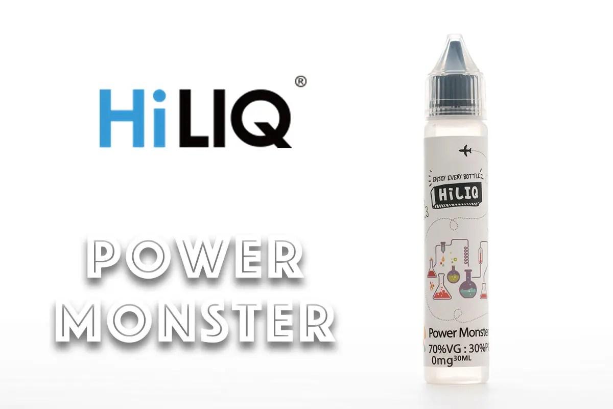 【HiLIQ Power Monsterレビュー】ハイリク パワーモンスター リキッド
