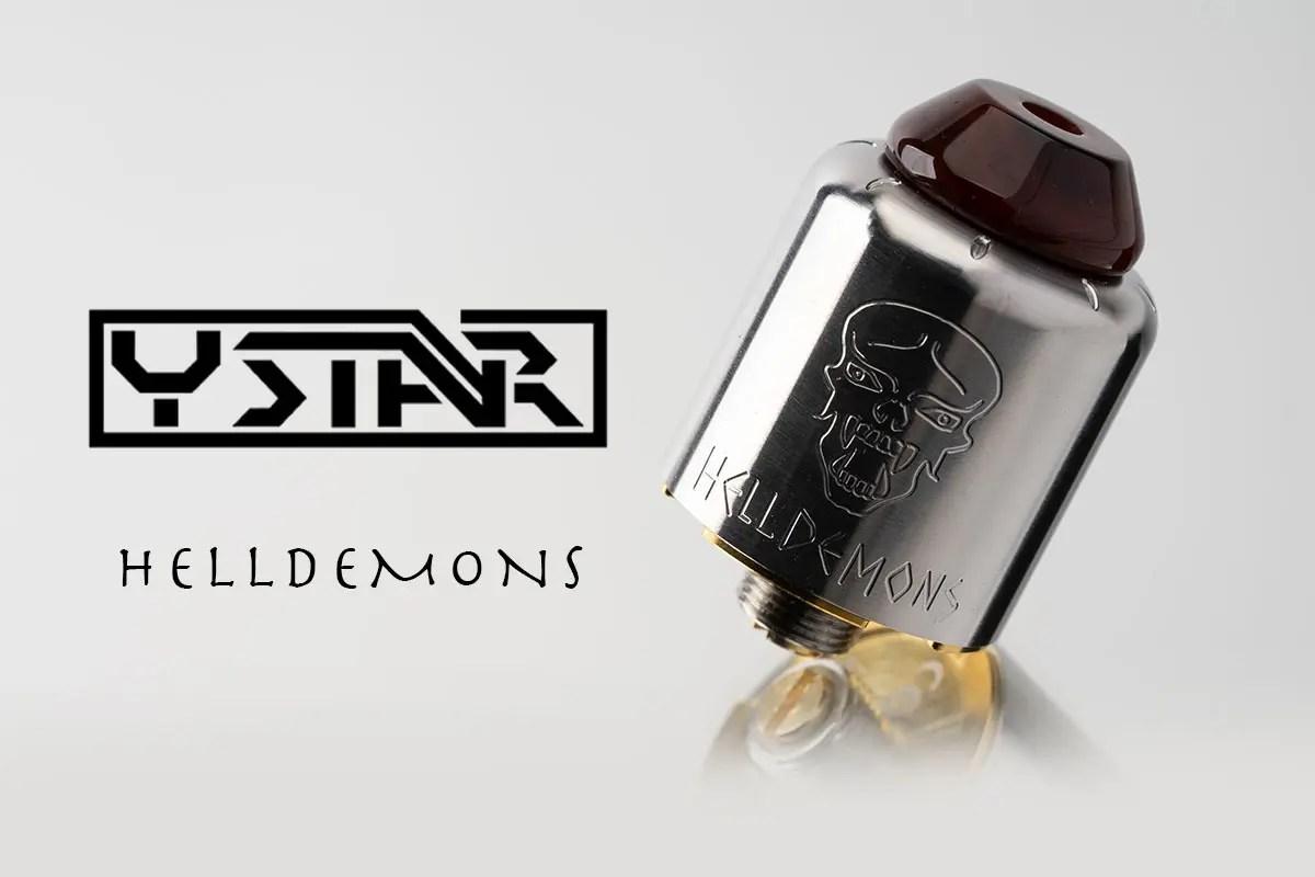 【Ystar HELLDEMONS RDA レビュー】ワイスター ヘルデモンズ