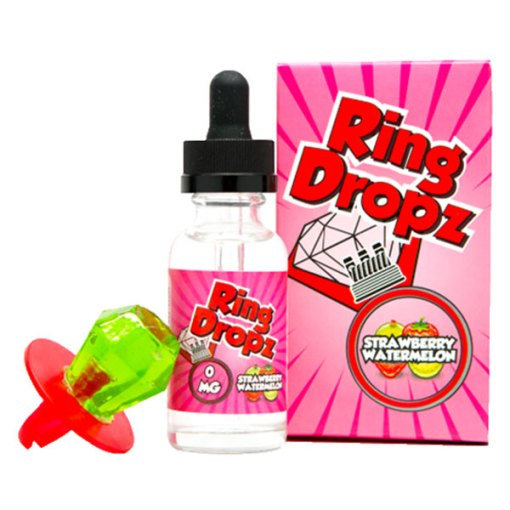 Ring Dropz e-Liquid Strawberry Box