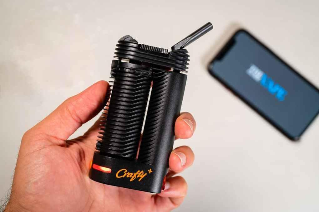 Crafty+ Portable Dry Herb Vaporizer