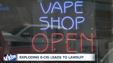exploding e-cig leads to lawsuit
